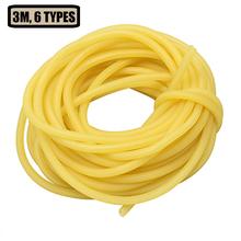 3m Tactical Rubber Tube Natural Latex Slingshots Tubing Shooting Accessories For Slingshot Hunting Band Catapults Fitness Yoga