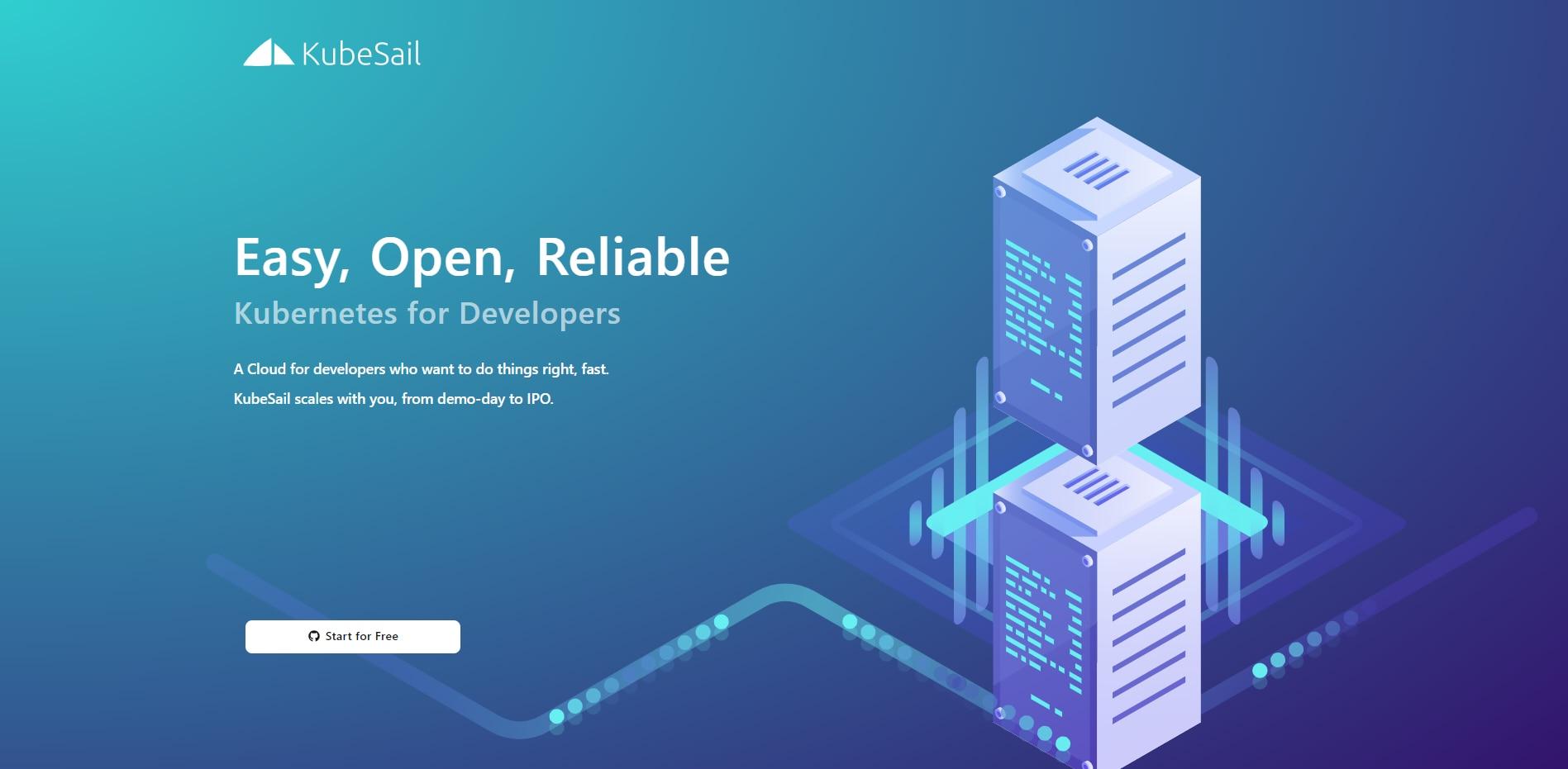KubeSail免费无限制容器服务申请方法