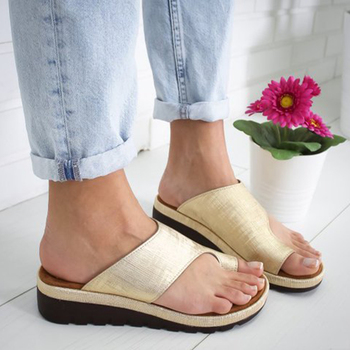 Summer Women Slippers Rome Retro Casual Women Shoes Thick Bottom Wedge Open Toe Sandals Beach Slip On Slides Female Slippers