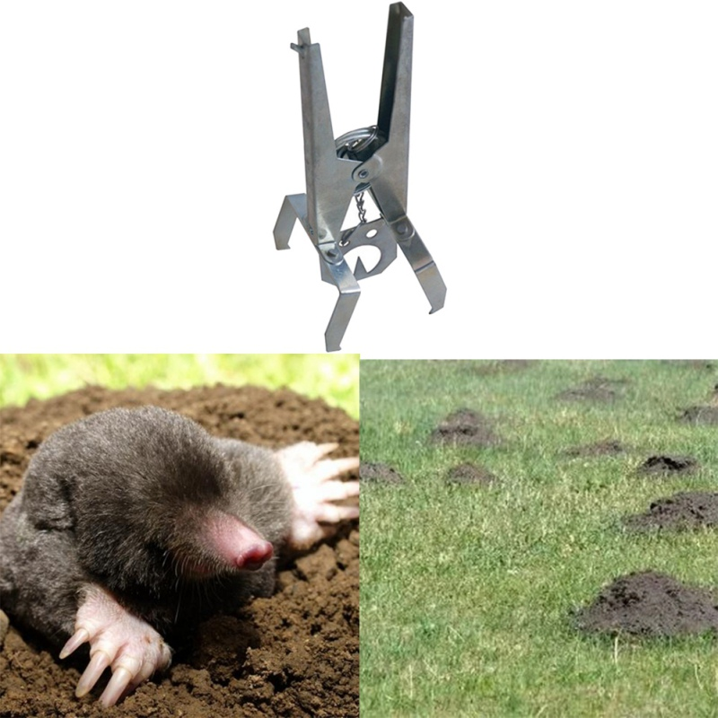 Multi-function Catching Mole Trap Scissor Type Rat Repellent Powerful Pest Control Products Outdoor Garden Supplies