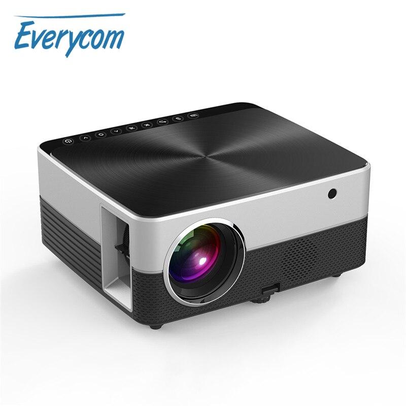 Everycom N5 Mini LED HD 720P Projector WIFI Bluetooth Android 7.1 Optional Home Theater Data Show Portable Projetor Portati Проектор