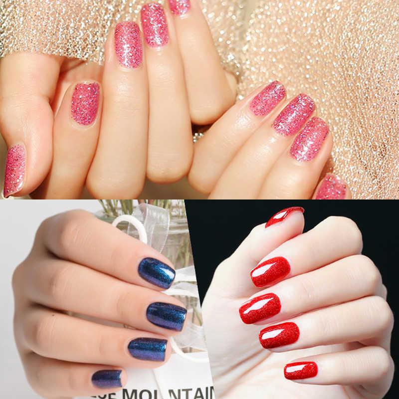 Docaty Uv Gel Nagels Polish Glitter Neon Gel Polish Losweken Uv Nagellak Uv Led Permanente Emailen Regenboog Nail art Primer