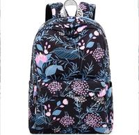 Fashion Waterproof Women Backpack Flower Printing Bagpack Daily Travel Rucksack Laptop Bookbag Female School Backpacks for Girls