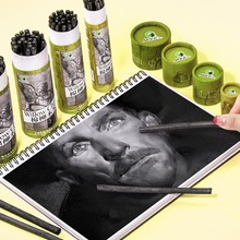 Erase Sticks Vine Willow Charcoal Artist Sketch Approx. 4-5 Wipe Can Dia Pack-Of-25 And