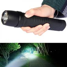 Portable 5W 450Lumens R5 LED Flashlight Glare Rechargeable IP68 2 Meters Underwater with 5 Mode for Hunting Hiking Night Fishing