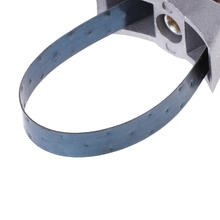 Car Auto Oil Filter Removal Tool Strap Wrench Adjustable 60mm To 120mmf chrome vanadium steel strap 9 inch 225mm motor car oil filter strap wrench strap filter wrench oil filter wrench