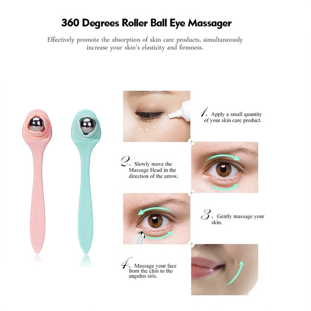 Eye Massager Anti Aging Wrinkle Dark Circle Removal Eye Patch Relief  Eyes Care Device Face Massager Beauty Tools 3