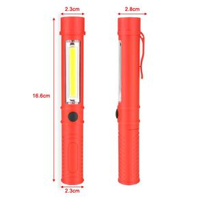 Image 4 - Đa Năng COB LED Mini Bút Ánh Sáng Làm Việc Kiểm Tra Đèn LED Đèn Pin Đèn Với Đáy Nam Châm Và Kẹp Đen/đỏ/Xanh Dương