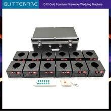 Caja receptora de 12 canales, control remoto inalámbrico D12, máquina pirotécnica para cumpleaños y bodas