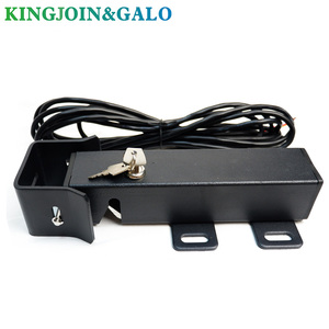 Image 1 - DC24V Electric Gate Latch Lock for Swing Gates Double or Single leaf