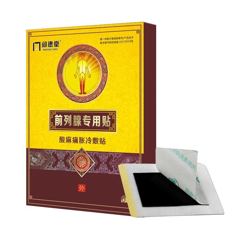 Parches chinos para tratar la prostatitis