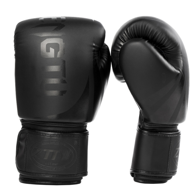 8 10 12 14 oz gants De boxe PU cuir Muay Thai Guantes De Boxeo combat gratuit mma Sandbag formation gant pour hommes femmes enfants