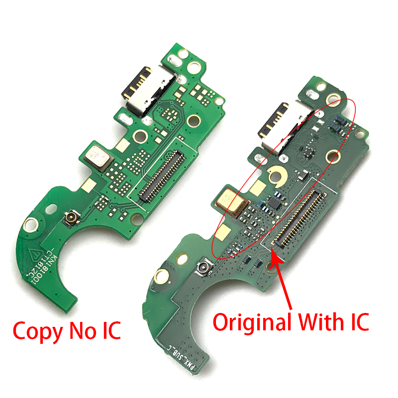 New For <font><b>Nokia</b></font> <font><b>8.1</b></font> X7 USB Charging Flex Cable <font><b>Charger</b></font> Dock connct Flex Ribbon Cable image