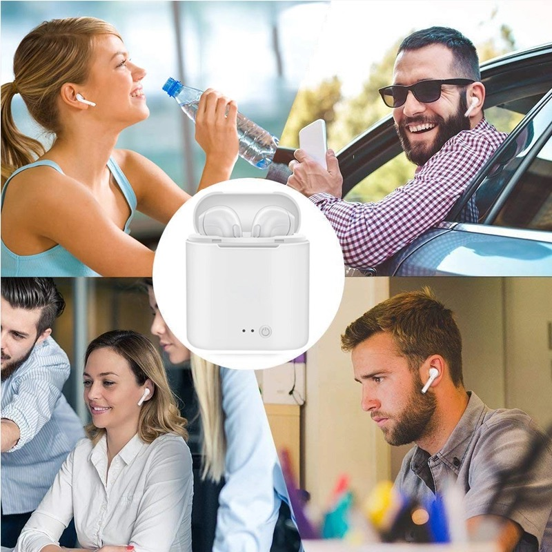 I7s Tws Hoofdtelefoon Bluetooth 5.0 Koptelefoon Draadloze Headsets Stereo Bass Oordopjes In-Ear Sport Waterdichte Hoofdtelefoon Gratis Verzending 6