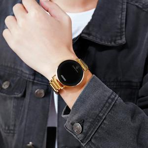 Image 5 - SKMEI Brand Mens Watches Luxury Sport Digital Watch Stainless Steel Men Wristwatch LED Light Display Electronic Watch Bracelet