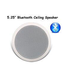 Потолочный динамик s, 5,25 дюйма, с Bluetooth, для дома, 10 Вт