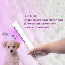 Portable UV Bactericidal Lamp Pet Disinfection Ozone Sterilizer Light Home Kill Mite Sterilization Ultraviolet Tube Lamps Lycra