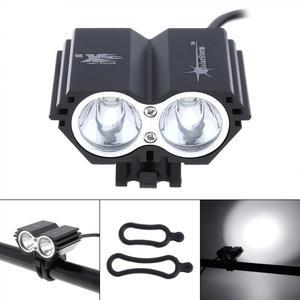 5000lm à prova dwaterproof água solarstorm x2 xm-l t6 led bicicleta lâmpada do farol