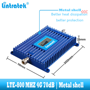 Image 3 - Lintratek LTE 800 mhz handy signal verstärker 4G 800 mhz cellular signal repeater booster band 20 4g internet netzwerk