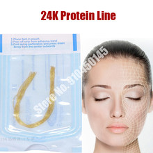 Linha facial do peptide da proteína do elevador da linha do colagênio da agulha da linha do radar que cinzela para o anti-enrugamento com linha do radar carve