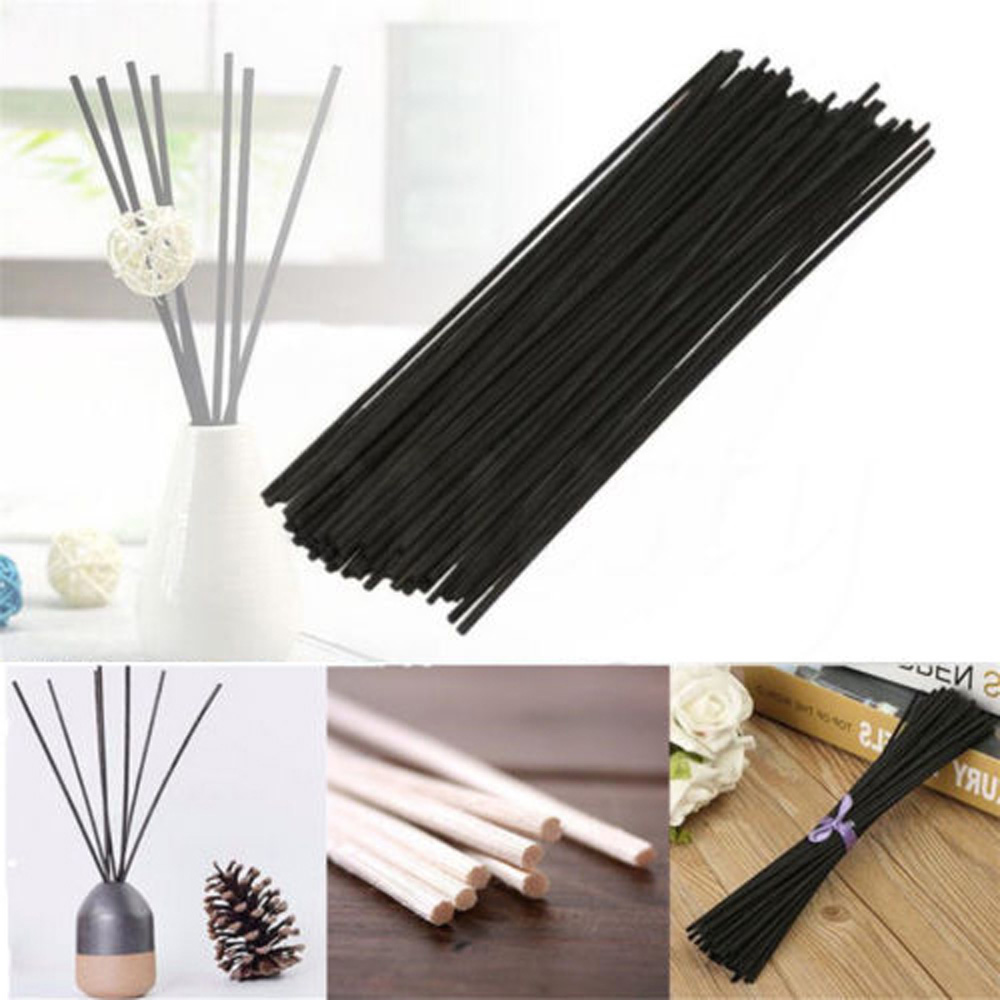 Home Reed Fragrance Oil Diffuser Sticks Incense Bamboo Rattan Home Fragrance Reed Diffuser Incense Aroma Diffuser Oil Diffuser