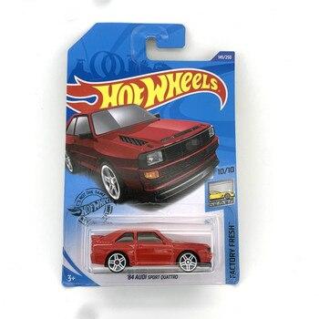 2020-145 Hot Wheels car 1/64 84 AUDIS SPORTs QUATTROs коллекция металлические Литые модели моделирования автомобилей игрушки