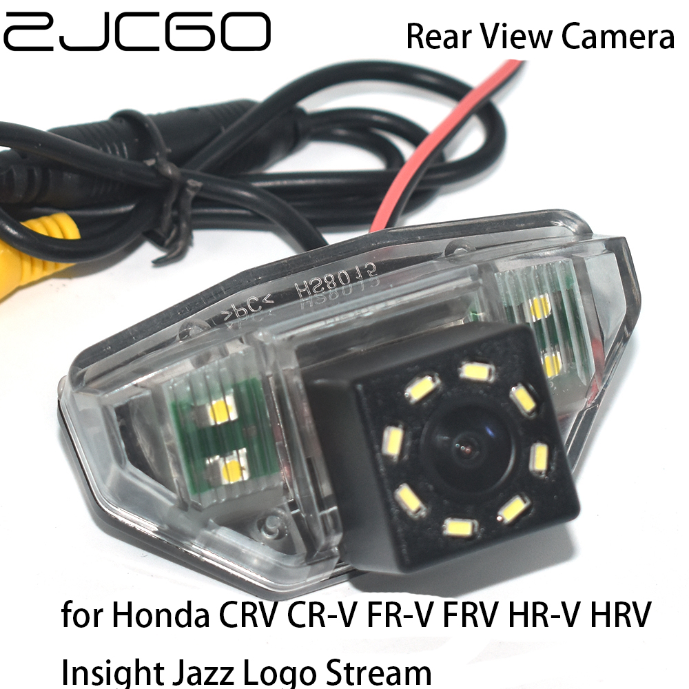 ZJCGO HD Car Rear View Reverse Back Up Parking Night Vision Camera for Honda CRV CR V FR V FRV HR V HRV Insight Jazz Logo Stream|Vehicle Camera| - AliExpress