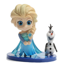 10cm Princess Doll Elsa Figure Toy Baby Toys Action Figures Dolls Classic Gift B603
