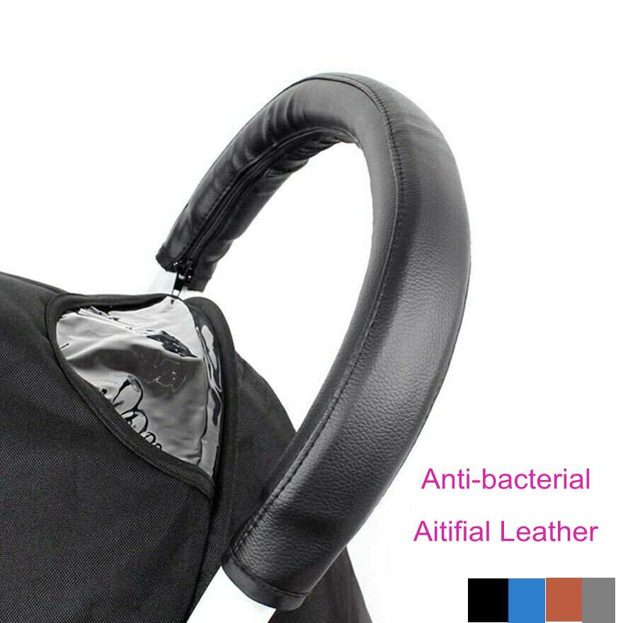 Baby Stroller Handle Cover Armrest Pu Bar Leather Protective Case  Handlebar Cover For Babyzen Yoyo Stroller Accessories