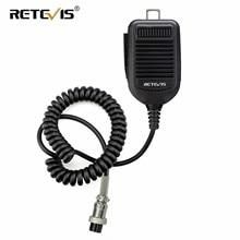 Retevis MI001 اسلكية تخاطب رئيس ميكروفون يده ميكروفون 8Pin ل ICOM HM36 HM 36 IC 718 IC 775 IC 7200 المحمول راديو C9199A