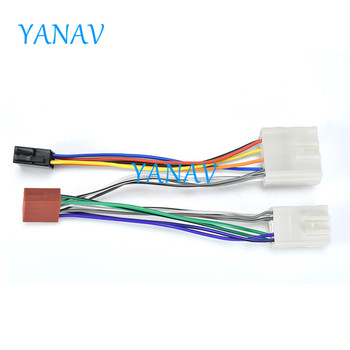 12-028 ISO RADIO ADAPTER CABLE FOR-VOLVO S40,V40,S70,V70 2000+;Serie 8,Serie 9 1993-1996 Car Stereo Radio ISO Wire Cable ISO Wi фото