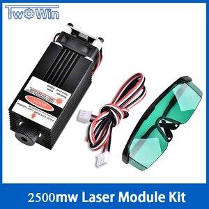 2500mw Laser Module 450NM Focu