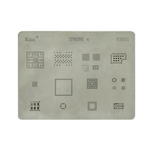 BGA Stensil Solder Template Set Ulang Stasiun Reballing Kit untuk Iphone 4 4S 5 5S 6 6S 7 8 X XS(China)