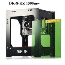 NEJE DK 8 KZ1000mW Professionale FAI DA TE Mini USB Laser Funzionamento Off line Incisore Cutter Automatico Stampa Incisione Intagliare Macchina