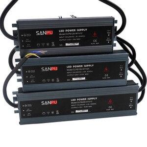 Image 2 - LED ultra thin waterproof strip power supply IP67 45W/60W/100W/120W/150W/200W/250W/300W transformer 175V~240V to DC12V 24V