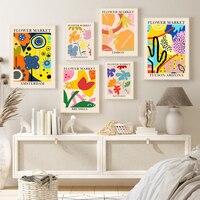 Cuadro sobre lienzo para pared, carteles nórdicos e impresiones de imágenes de pared para decoración de dormitorio