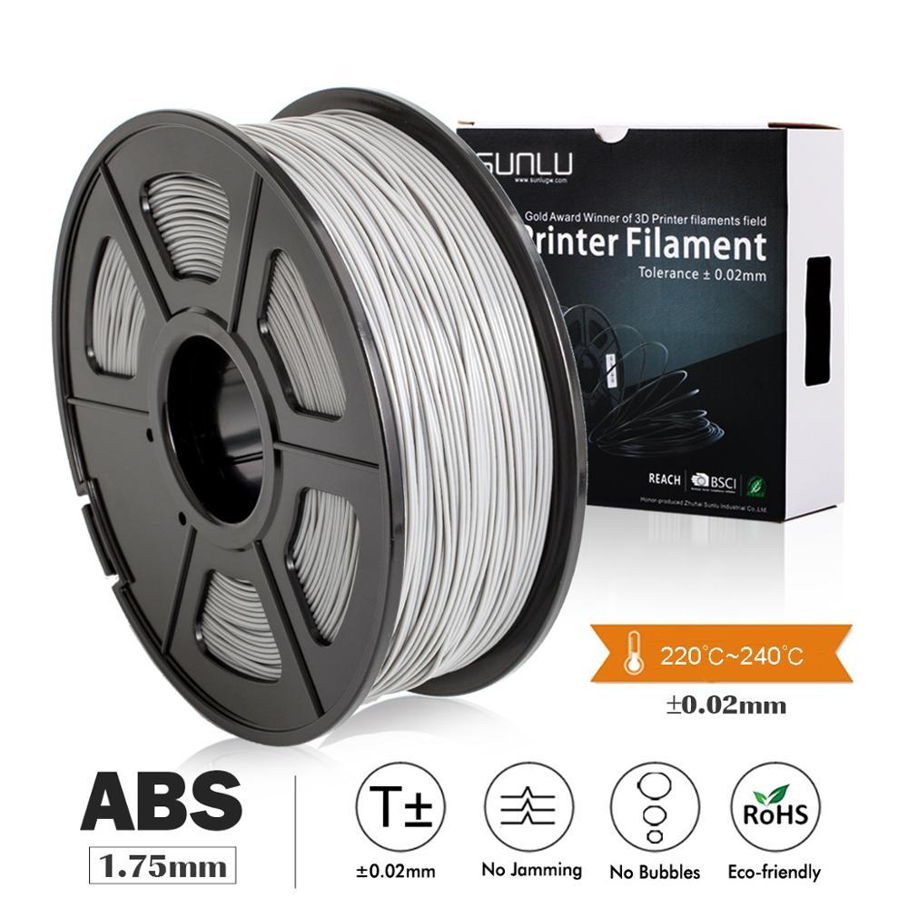 3D Printer ABS Filament 1kg Tolerance 0 02mm 100 No Bubble Non toxic Plastic Material for