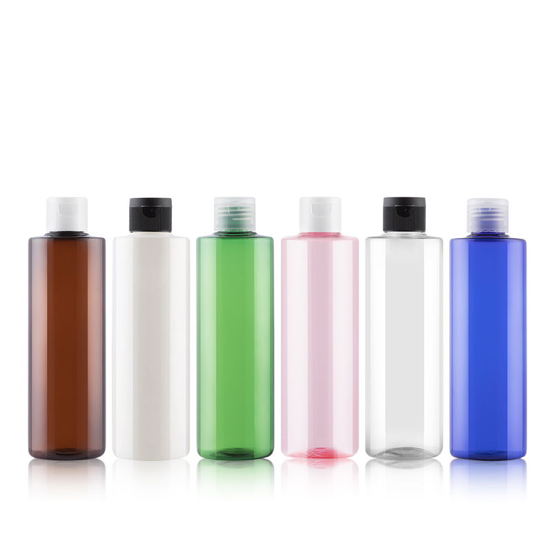 250ml 24pcs Flip Cap Perfume Bottle Make-up Toner Body Lotion Cosmetic Plastic Bottles Containers Pet Recycling Empty Bottle