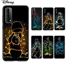 Soft Cover Elsa Ariel Prinses Voor Huawei P Smart 2021 2020 Z S Mate 40 Rs 30 20 20X 10 pro Plus Lite 2019 Telefoon Case