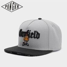 Snapback Hat Garfield-Cap Hip-Hop-Headwear PANGKB Fashion Women Brand Casual Adult