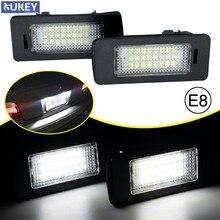 2x canbus led placa de número hid branco etiqueta traseira da placa de licença lâmpada luz para bmw e39 m5 e70 e71 x5 x6 e60 m5 e90 e92 e93 m3