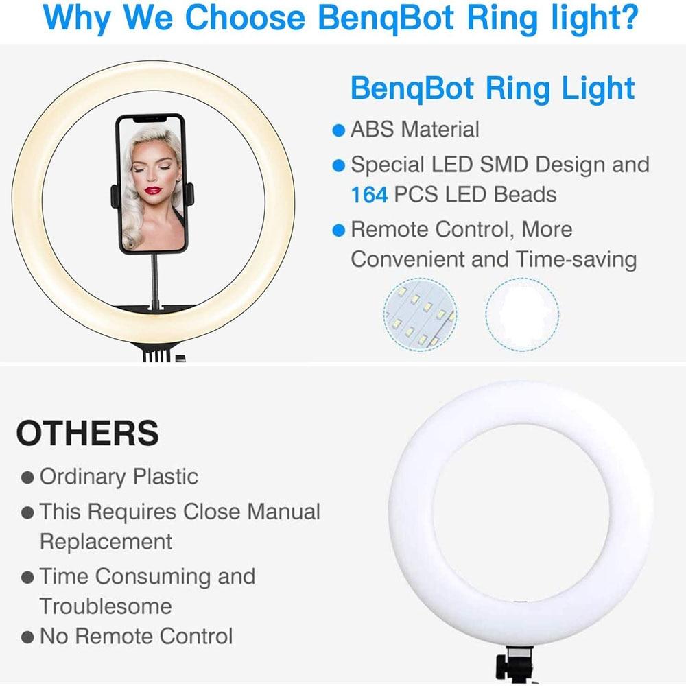 Video Lights Dimmable Light Selfie LED Ring Light USB Ring Lamp With Tripod Stand Rim Of Video Lights Dimmable Light Selfie LED Ring Light USB Ring Lamp With Tripod Stand Rim Of Light To Make TikTok Youtube ringlight