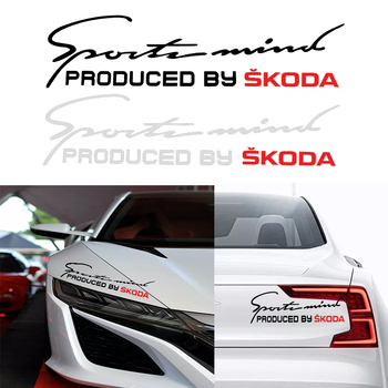 1pc new Car Styling Sport 3D Stickers Covers body Sticker For Skodas Octavia A5 A7 Fabia superb car-styling Accessories