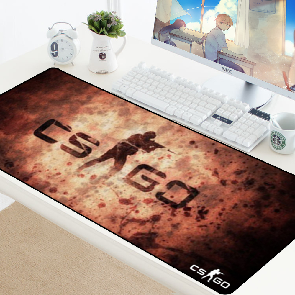 Image 2 - Large Size Gaming Mouse Pad Mat Grande for CS GO Hyper Beast Gamer XL XXL Computer Mousepad Game for Csgo Muismat PC 900x400mm-in Mouse Pads from Computer & Office