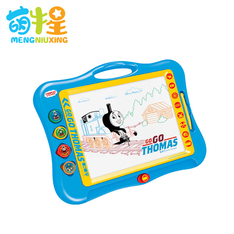 Color Graffiti Magnetic Thomas Drawing Board Children'S Educational Toy Small Drawing Board Magnetic Drawing Board