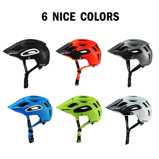 2020 novo cairbull ciclismo capacete trail xc bicicleta capacete in-mold mtb bicicleta capacete casco ciclismo estrada capacetes de montanha boné de segurança 5