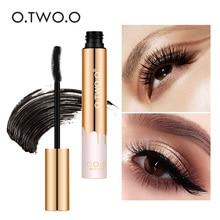 O.TWO.O 3D Fiber Lashes Thick Lengthening Mascara Long Black Lash Eyelash Extension Eye Lashes Brush Makeup Pro Eye Cosmetics