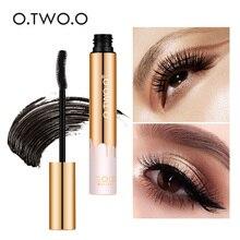 O.TWO.O 3D z włókna rzęsy grube wydłużenie tusz do rzęs długie czarne rzęsy Lash przedłużanie rzęs pędzel do makijażu Pro Eye kosmetyki