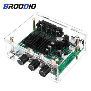 TPA3116D2 Digital Audio Amplifier Board Dual Channel 80W*2 Stereo TPA3116 High Power Amplifier Sound Preamplifier Tone Board Amp