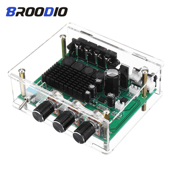 TPA3116D2 Digital Audio Amplifier Board Dual Channel 80W*2 Stereo TPA3116 High Power Amplifier Sound Preamplifier Tone Board Amp 2017 new nobsound hifi 2 channel microphone preamplifier dual mic preamp audio recorder electric guitar amplifier